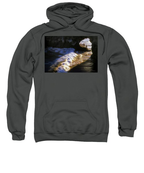 Santa Cruz 'bridge' California Coastline Sweatshirt
