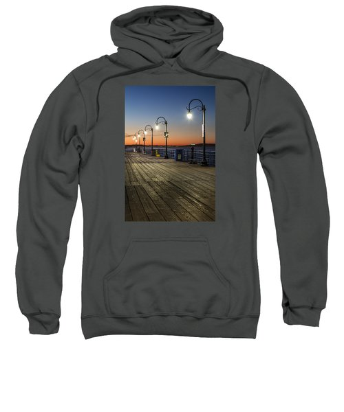 Santa Monica Pier Lights Sweatshirt