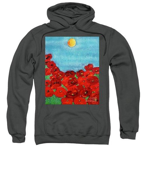 Sarah's Poppies Sweatshirt