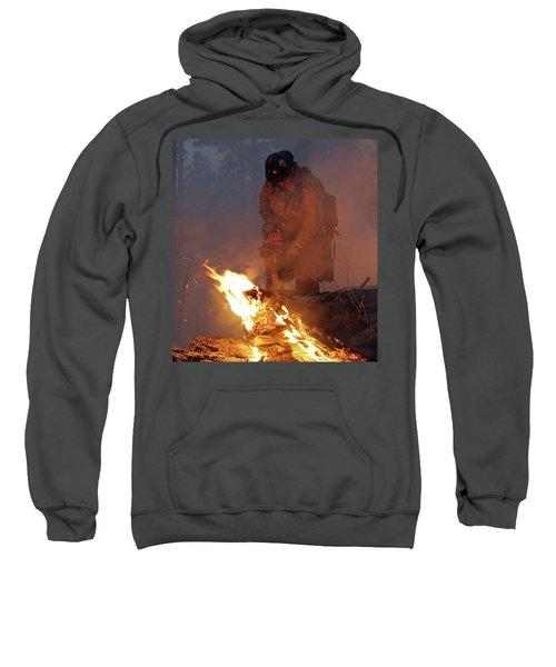 Sawyer, North Pole Fire Sweatshirt
