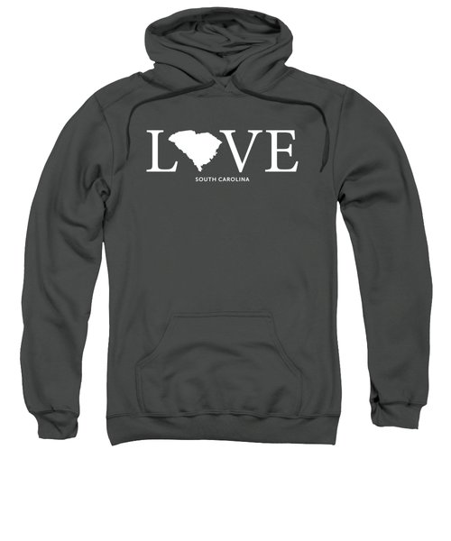 Sc Love Sweatshirt by Nancy Ingersoll