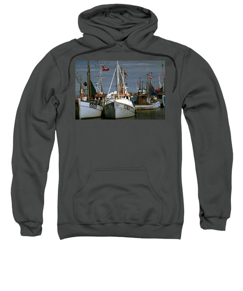 Scandinavian Fisher Boats Sweatshirt