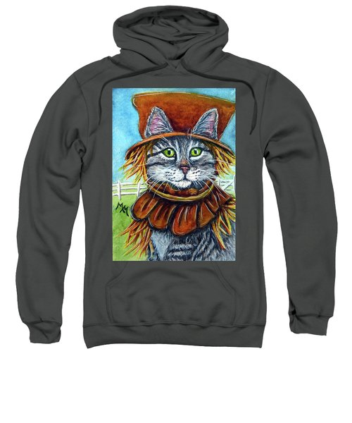 Scarecrow Tabby Sweatshirt