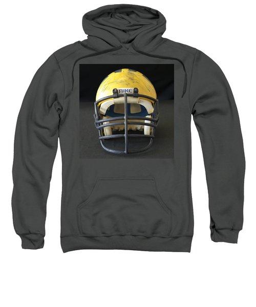 Scarred 1980s Wolverine Helmet Sweatshirt