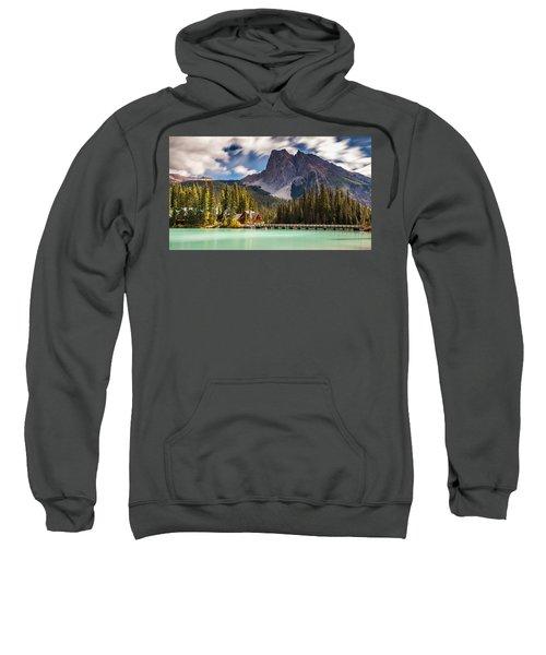 Scenic Emerald Lake  Sweatshirt