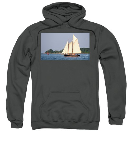 Schooner Cruise, Casco Bay, South Portland, Maine  -86696 Sweatshirt