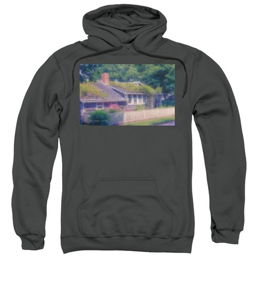 Sconset Cottage #3 Sweatshirt