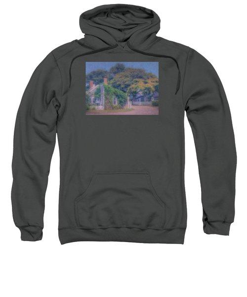 Sconset Cottages Nantucket Sweatshirt
