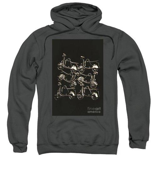 Scooters Of Pop Culture Sweatshirt