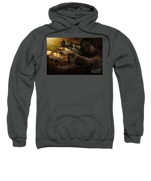 Scopped Sweatshirt