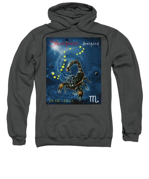 Scorpius And The Stars Sweatshirt