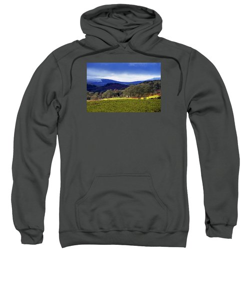 Sweatshirt featuring the photograph Scottish Scenery by Jeremy Lavender Photography