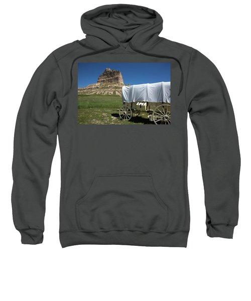 Scotts Bluff National Monument Nebraska Sweatshirt