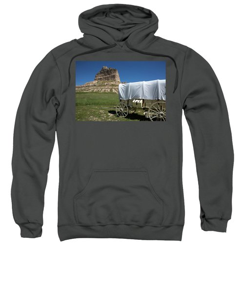 Scotts Bluff National Monument Nebraska Sweatshirt