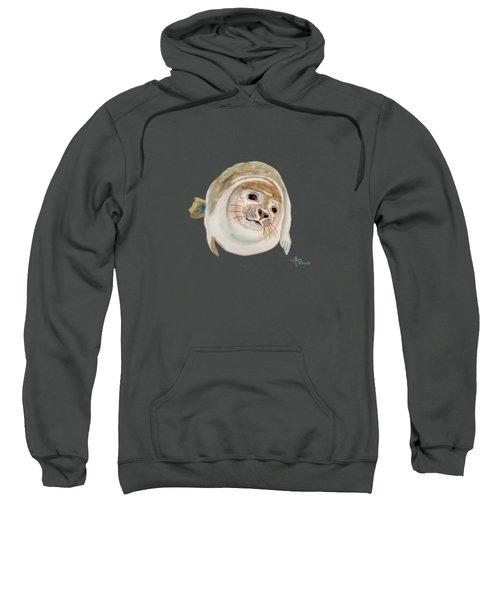 Sea Lion Watercolor Sweatshirt