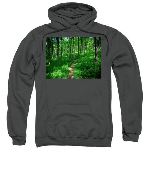 Sea Of Ferns Sweatshirt
