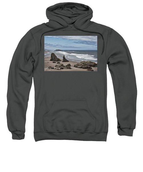 Sea Stacks And Surf Sweatshirt