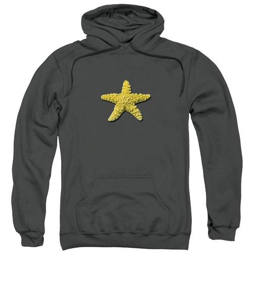 Sea Star Yellow .png Sweatshirt
