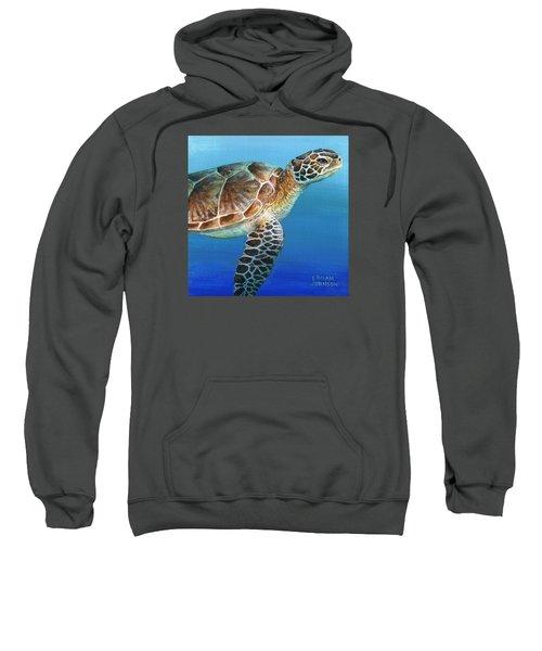 Sea Turtle 2 Of 3 Sweatshirt