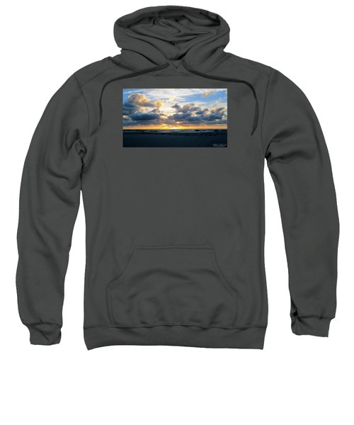 Seagulls On The Beach At Sunrise Sweatshirt