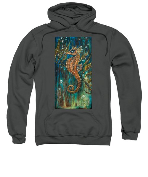 Seahorse And Kelp Sweatshirt