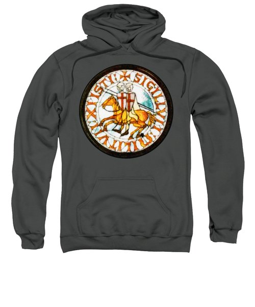 Seal Of The Knights Templar Sweatshirt