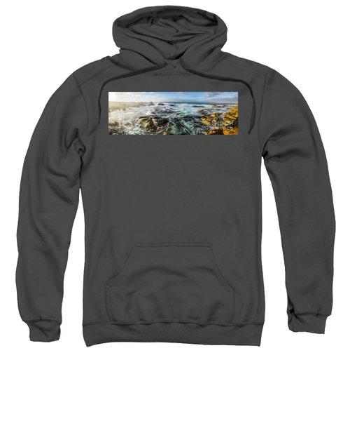 Seas Of The Wild West Coast Of Tasmania Sweatshirt