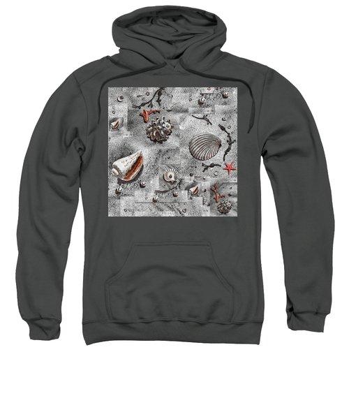 Seashells Collage Of Any Color Sweatshirt