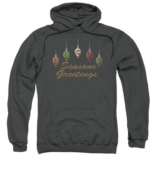 Seasons Greetings Merry Christmas Sweatshirt