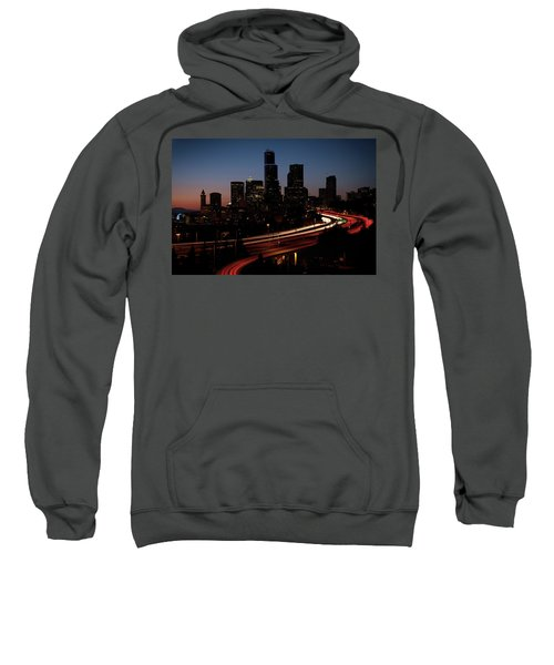 Seattle At Dusk Sweatshirt