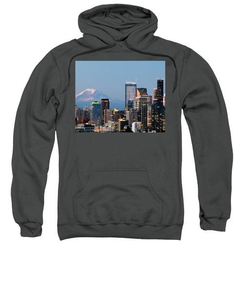 Seattle At First Light II Sweatshirt