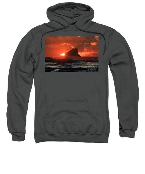 Second Beach Shark Sweatshirt