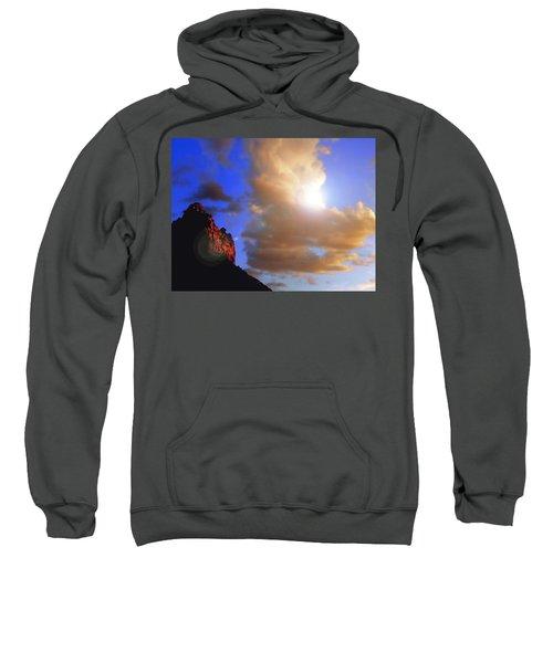 Sedona Mountain Cloud Sun Sweatshirt