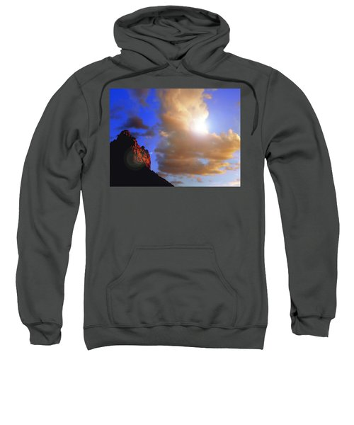 Sedona Mountain Cloud Sun Sweatshirt