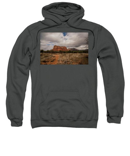 Sedona National Park Arizona Red Rock 2 Sweatshirt by David Haskett