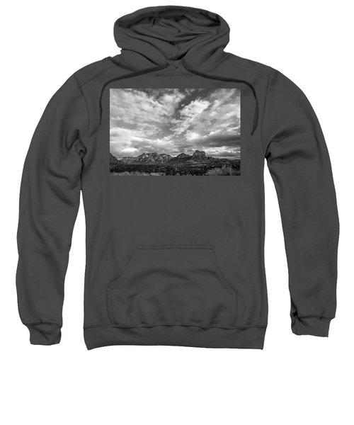 Sedona Red Rock Country Bnw Arizona Landscape 0986 Sweatshirt by David Haskett