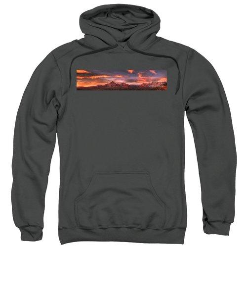 Sedona Sunset Panorama Sweatshirt