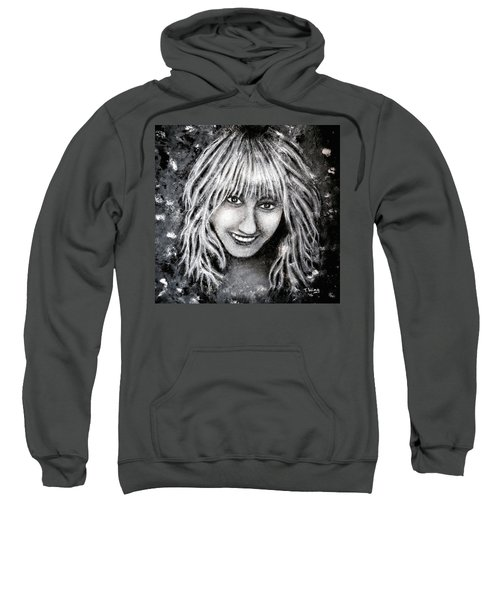 Self Portrait #1 Sweatshirt by Teresa Wing