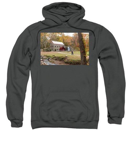 Selfie In Autumn Sweatshirt