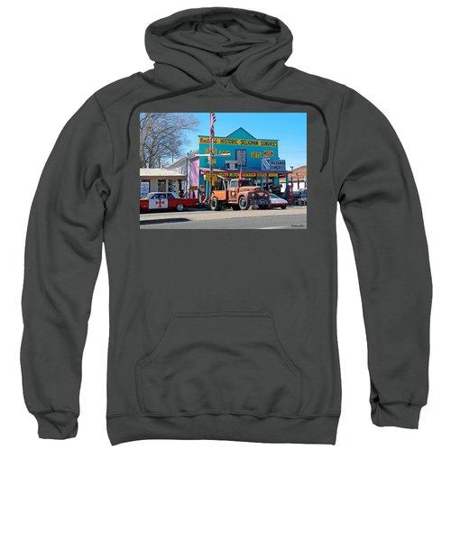 Seligman Sundries On Historic Route 66 Sweatshirt
