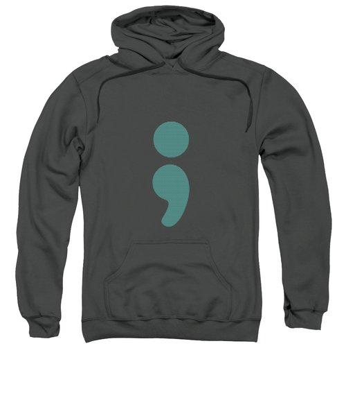 Semicolon 07 Sweatshirt by Bill Owen