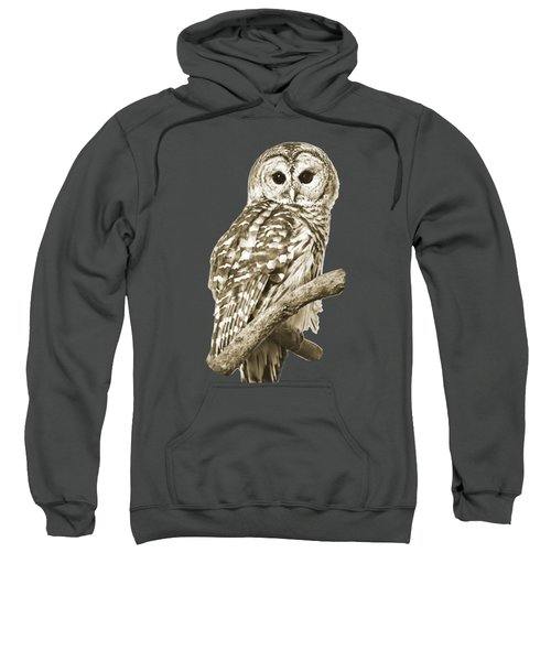 Sepia Owl Sweatshirt