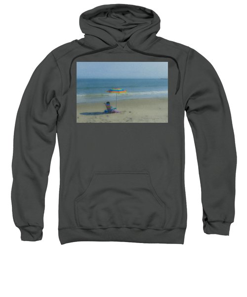 September Beach Reader Sweatshirt