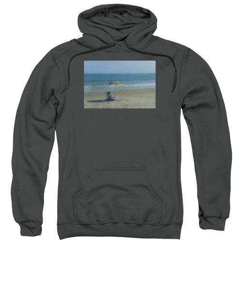 September Beach Reader Sweatshirt