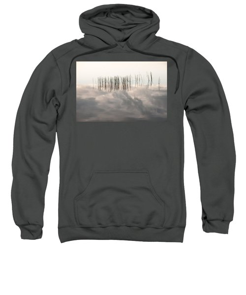 Serenity Dwells Here Where Tranquil Water Flow Cloaked  In Hues Of Love Sweatshirt