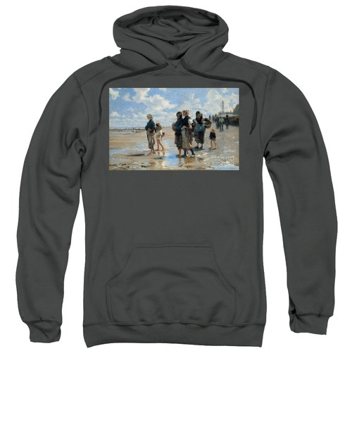 Setting Out To Fish Sweatshirt