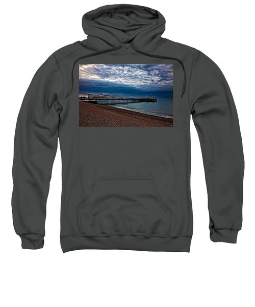 Seven Am On Brighton Seafront Sweatshirt