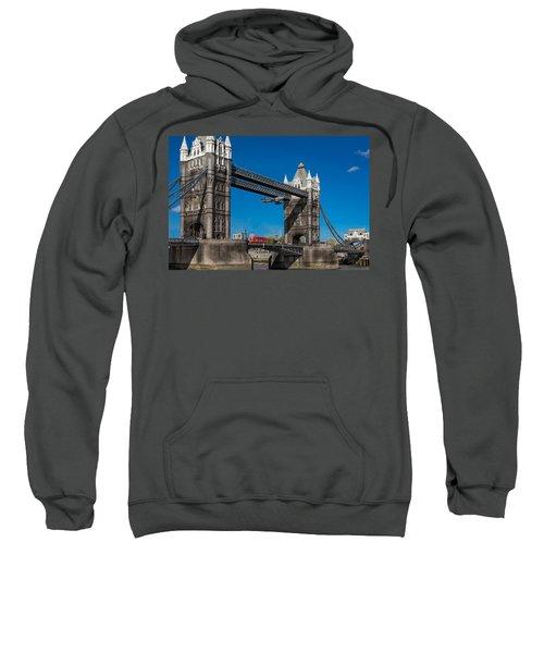 Seven Seconds - The Tower Bridge Hawker Hunter Incident  Sweatshirt by Gary Eason