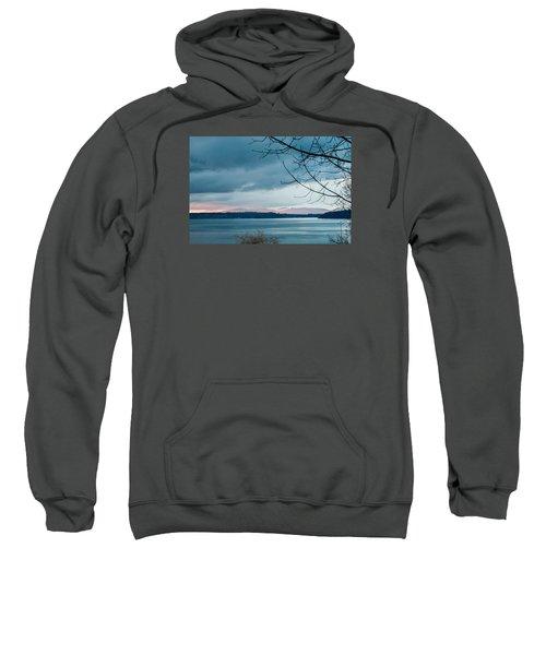 Shades Of Blue As Night Falls Sweatshirt