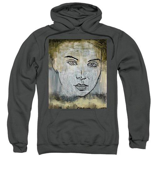 Shades Of Grey And Beige Sweatshirt